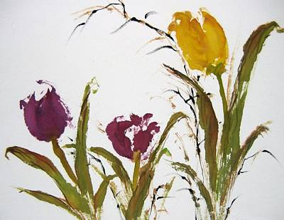 Painting - New Spring by Laurie Samara-Schlageter