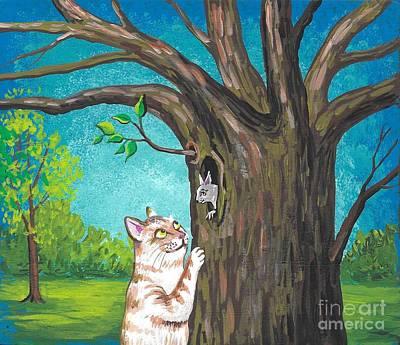 Painting - New Spring Morning by Margaryta Yermolayeva
