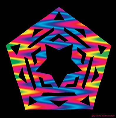 Digital Art - New Star 2 by Eric Edelman