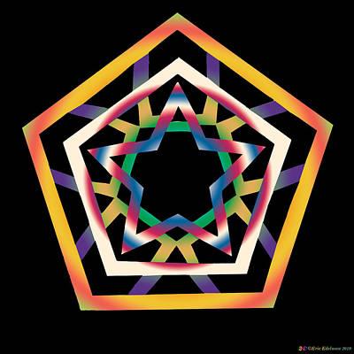 Digital Art - New Star 4b by Eric Edelman