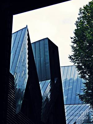 Photograph - New Synagogue Mainz 1 by Sarah Loft