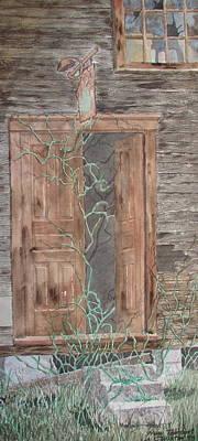 Painting - New Tenant by Tony Caviston