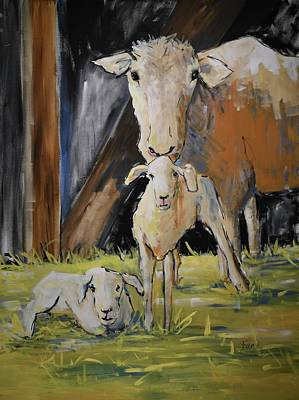 Painting - New Twins by Terri Einer