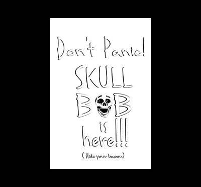 Digital Art - Skull Bob by Phil Koch