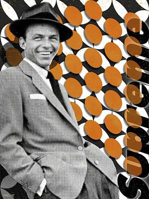 Digital Art - Frank Supreme - Frank Sinatra by Richard Prescott