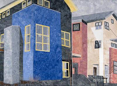 New Urbanism Print by Carol Ann Waugh