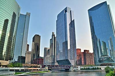Photograph - New View In Chicago by Frozen in Time Fine Art Photography