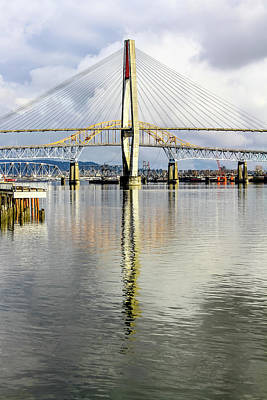 Photograph - New Westminster by Menachem Ganon