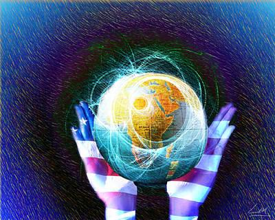 Digital Art - New World Disorder by MrLou