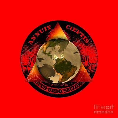 New World Order By Pierre Blanchard Art Print
