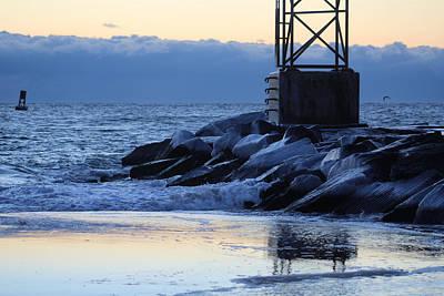 Photograph - New Year Dawn Reflection by Robert Banach