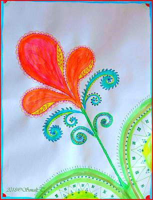 Painting - New Year Flora by Sonali Gangane