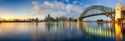 Sydney Skyline Photograph - New Year Inspirations by Az Jackson