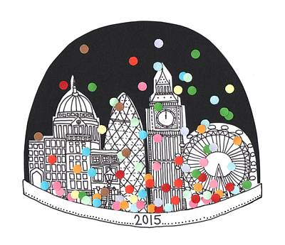 New Year Art Print by Isobel Barber