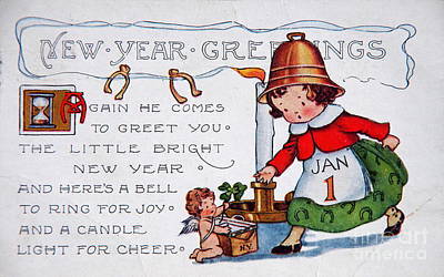 Photograph - New Year Postcard by Kevin Bohner