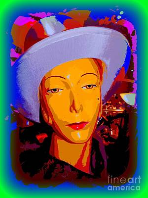Digital Art -  New Years Eve Nanette by Ed Weidman