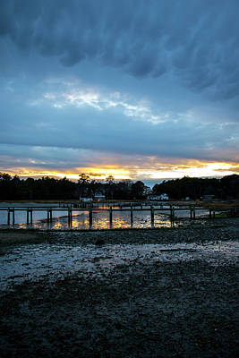 Photograph - New Years Eve Sunset In Mobjack Bay by Jean Haynes