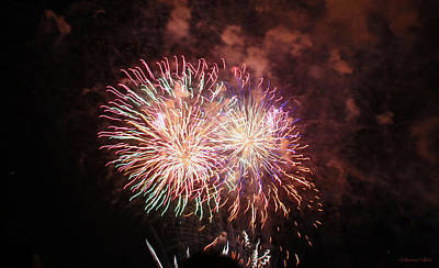1-war Is Hell Royalty Free Images - New Years Fireworks Royalty-Free Image by Bonnie Follett