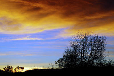 New Year's Sunset Print by Bill Morgenstern