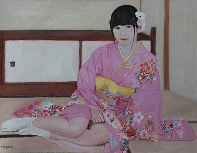 Painting - New Yea's Day by Masami Iida
