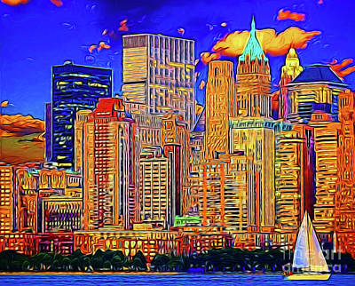 Photograph - New York 14318 by Ray Shrewsberry