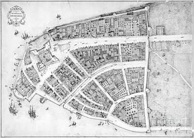 1660 Photograph - New York, 17th Century by Granger