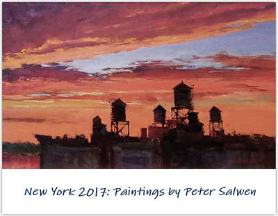 Painting - New York 2017 by Peter Salwen