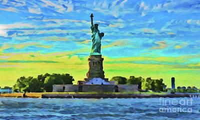 Photograph - New York 21418 by Ray Shrewsberry