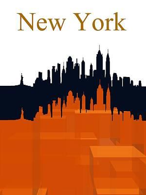 New York Digital Art - New York 5 by Alberto RuiZ