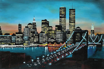 Painting - New York 910 by Craig A Stevens