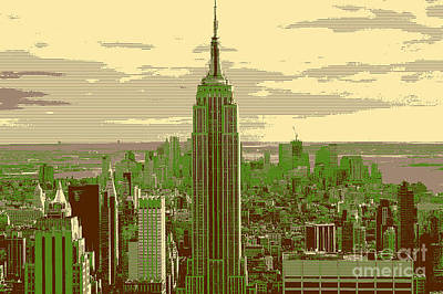 Photograph - New York by Celestial Images