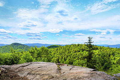 Photograph - New York Adirondack Mountains by Christina Rollo