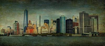 Storm Clouds Mixed Media - New York After Storm by Dan Haraga