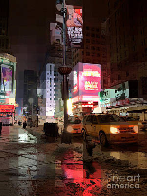 Photograph - New York - After The Snow by Miriam Danar