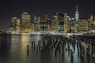 Photograph - New York And Pier  by John McGraw
