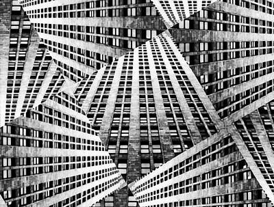 Digital Art - New York Architecture Abstract by Yury Malkov