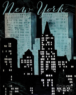 Cities Royalty-Free and Rights-Managed Images - New York Art Deco by Mindy Sommers