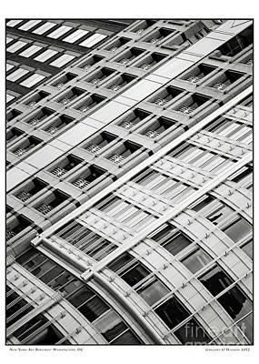 Gregory Ohanlon Photograph - New York Avenue Buildings by Gregory O'Hanlon