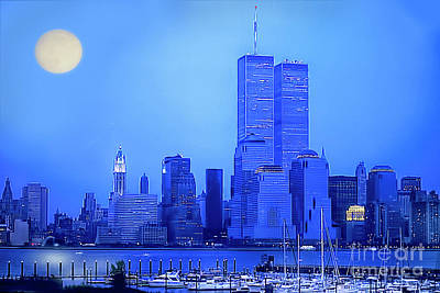Digital Art - New York Blues by Maggie Magee Molino