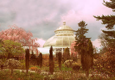 Conservatories Photograph - New York Botanical Garden by Jessica Jenney