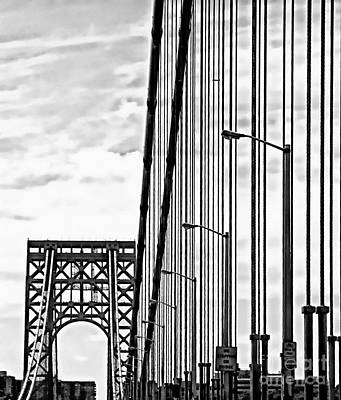 Photograph - New York Bridge by Marcia Lee Jones