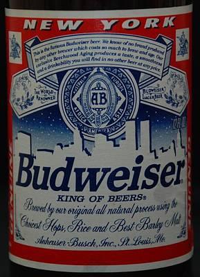 New York Bud Original by Rob Hans