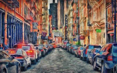 New York Busy Day Art Print by Yury Malkov