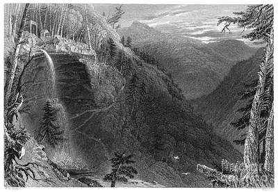 Drawing - New York, Catskills, 1838.  by Granger