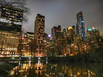 Cityscape Photograph - New York - Central Park 007 by Lance Vaughn