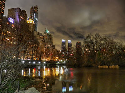 Photograph - New York - Central Park 008 by Lance Vaughn