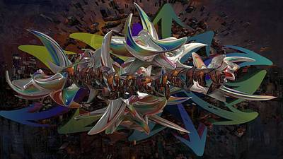 Digital Art - New York Cities Within A City  by Louis Ferreira