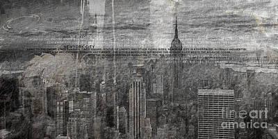 New York Painting - New York City 1 by Gull G