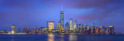 Photograph - New York City 2018 Freedom Tower World Trade Center Wtc Lower Manhattan Nyc by Jon Holiday