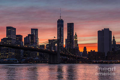 1 Wtc Photograph - New York City 29 by Tom Uhlenberg